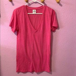 Victoria secret/pink top